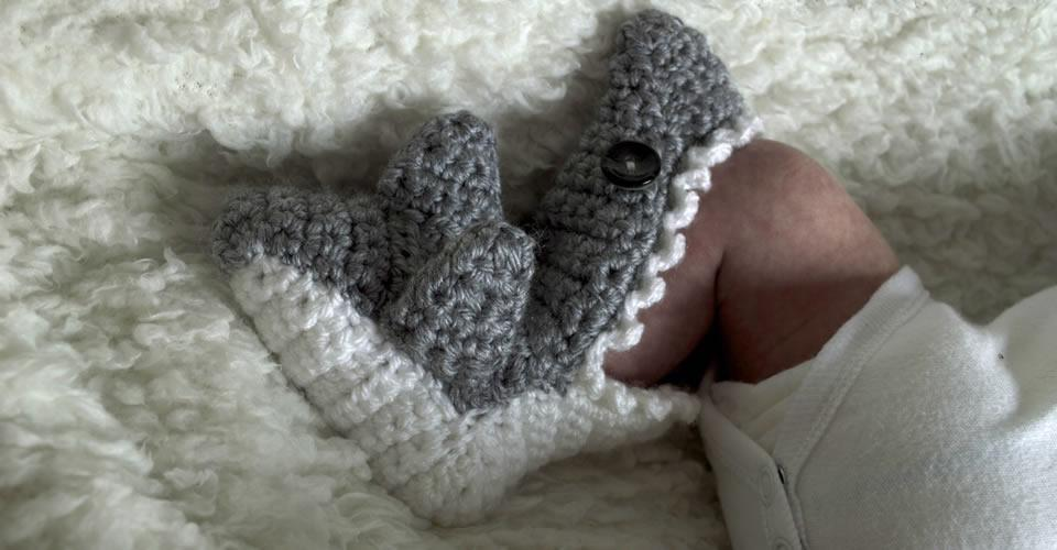 Childrens Shark Socks